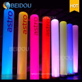 Event Inflatable Lighted Arch Tubes Cones Ivory Tusks Inflatable Pillars