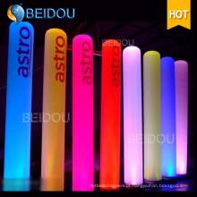 Evento Inflável Tubos Arco Iluminado Cones Marfim Presas Pilares Infláveis