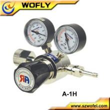Regulador de presión de gas natural forjado SS316