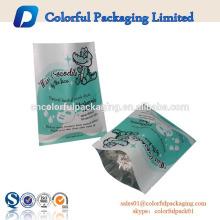 venta al por mayor personalizada de la superficie mate de papel de aluminio bolsa cosmética facial máscaras de ojos de embalaje