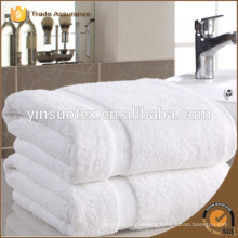 top grade cotton towel hotel use white towel