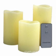 Remote Control Candles, Battery Operated