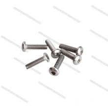 Light Strengthen titanium bolts M3 Polished Button Head Titanium Screw