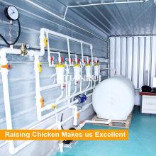 Sistema automático de riego avícola para pollos