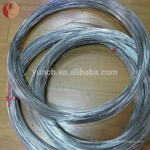 Ti3Al2.5V Gr9 titanium wire in coil shape for surgery