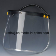 PC Face Shield Visor für Sicherheitshelm, PVC Face Shield Visor, Transparente Face Shield Visor, Green Face Shield Visor