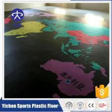 Plancher de vinyle de 5mm tapis de sol de gymnase de natation natte de PVC de piscine