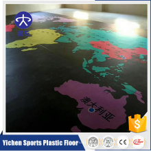 5мм виниловый пол танца тренажерный зал коврик бассейн ПВХ коврик