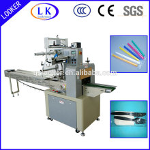 horizontal flow wrap machine for spoons
