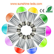 RGBW E27/E26 7.5W LED Bulb with RF Remote Control