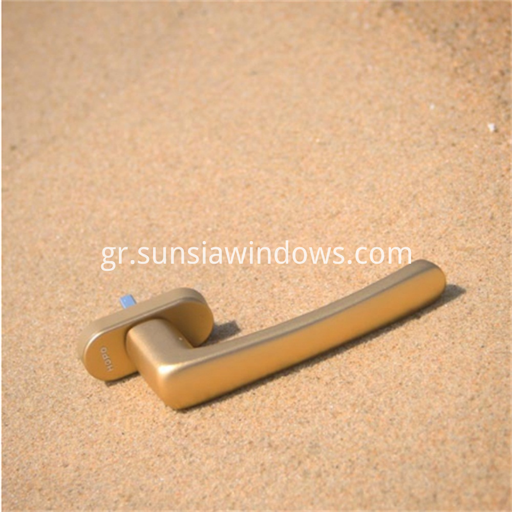 succinct durable modern casement windows door square spindle handle