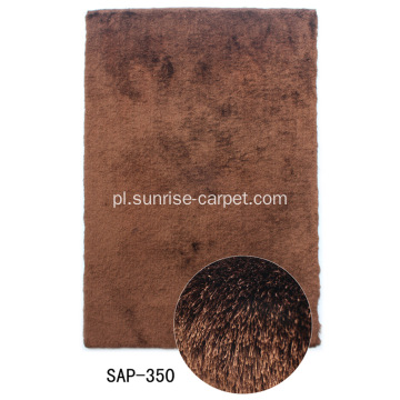 Poliester 150D Shaggy Carpet Long Pile