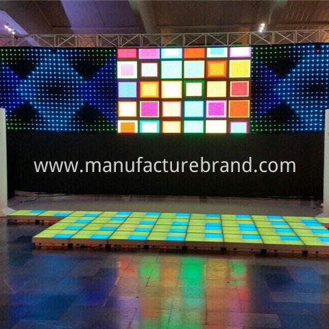 led  curtain wall light