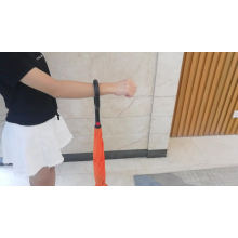 High quality wholesale upside down double layer car umbrella with c-shaped handle and logo design prints