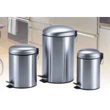 Poubelle à étages en acier inoxydable Cylinde