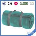 Polyester-fördernde bequeme Reise-polare Vlies-Decke des Polyester-100% mit Griff