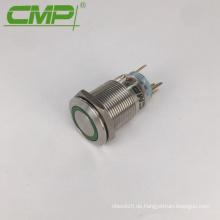 19mm CMP Edelstahl oder Verkupferung wasserdichte LED Licht Druckschalter