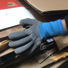 Winter Work Gloves with Latex Coated (LY2037)