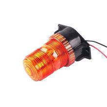 Luz de faro de carretilla elevadora LED ámbar estroboscópica giratoria popular 12V 110V