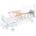 Manual hospital bed with 2 cranks hospital equipment