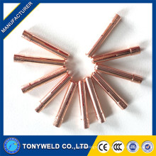 wp9/wp20 welding machine collet accessories 13N23 2.4mm tig collet