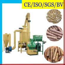 Biofuel 6mm Fabrication de granulés de bois Production Line Plant Press Machine