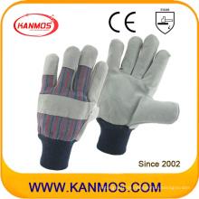 Cowhide Split Leder Arbeitsschutz Handschuhe (11019)