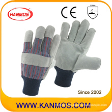 Cowhide Split Leather Industrial Safety Work Gloves (11019)