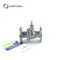 JKTLFB030 high pressure a216 wcb 2pc stainless steel instrument ball valve