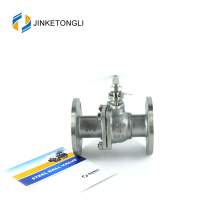 JKTLFB030 high pressure a216 wcb 2pc stainless steel instrument ball valve
