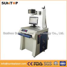 Máquina de la marca del laser de la fibra para el acero inoxidable, Alumnium, cobre, grabado plástico