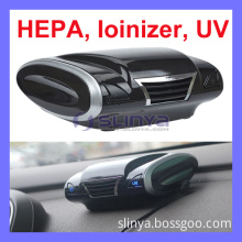 3 Million Aeroanion 12V 2 Watt 6 in One HEPA UV Active Carbon Car Air Purifier