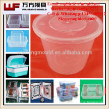 injection molding food containers/China supply quality products plastic injection mould food container