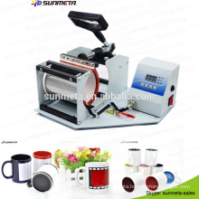 hot sale 11oz color changing mugs printing machine ,mug printing machine price