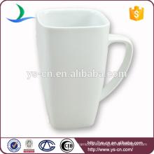 China Porcelana taza blanca por mayor