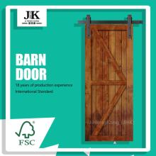 JHK-SK09 Modern Wood Room Door Design Painted Barn Doors