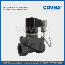 food grade plastic valve natural gas solenoid valve
