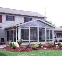 Foshan Woodwin Best Quality Tempered Glass Aluminum Sunroom