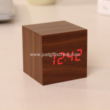Promotional Wooden Led Digital Alarm Clocks