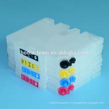 Черный голубой пурпурный желтый 4 цвета ГХ 41 многоразового картридж для Ricoh СГ 3100