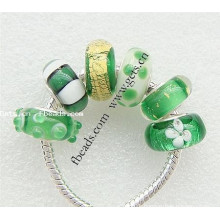 2015 Gets.com european lampwork beads sterling silver core