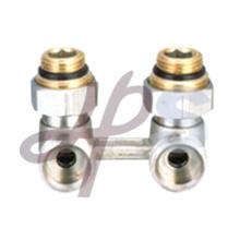 brass H pattern valve