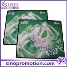 Jogo de borracha personalizado do tapete do rato do Não-Deslizamento do retângulo