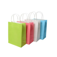2018 Custom Printed Colorful Gift Paper Bag Krismas