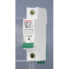 Interruptor de microcircuito en los disyuntores domésticos 50HZ-60HZ