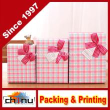 Caja de regalo de papel / caja de embalaje de papel (110238)