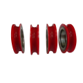 non standard 608 plastic pulley bearing for door slide