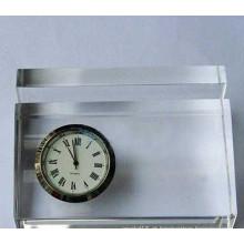 Portadores de cartão de visita de Paperweight Crystal Clear Ks050430