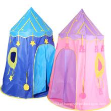 Tenda portátil dobrável para criança brincar em cubículo castelo