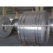 1060 bobina estampada de aluminio rollo